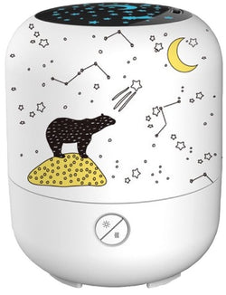 Ultrasonic Aromatherapy Diffuser LULLABY with LIGHTS PROJECTOR