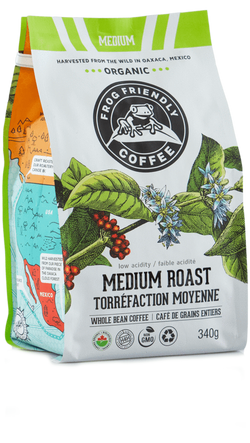 Frog Friendly Coffee Medium Roast