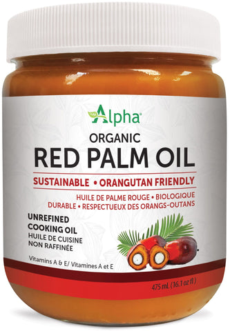 Alpha Red Palm Oil - Organic, Sustainable, Orangutan Friendly, FairTrade