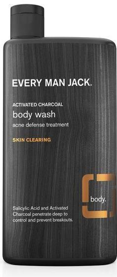 Men's Body Wash - Activated Charcoal Skin Clearing