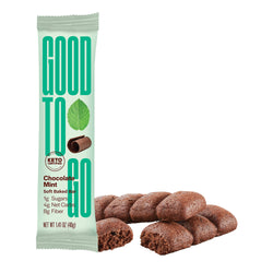 GOOD TO GO Keto Snack Bar - Chocolate Mint