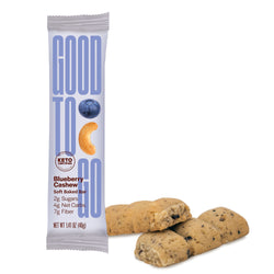 GOOD TO GO Keto Snack Bar - Blueberry Cashew