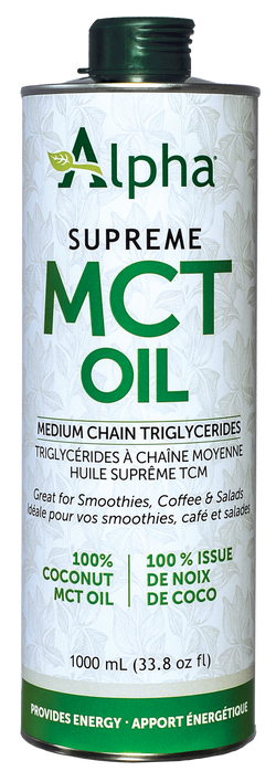 MCT Oil, Supreme Medium Chain Triglycerides - 2 SIZES