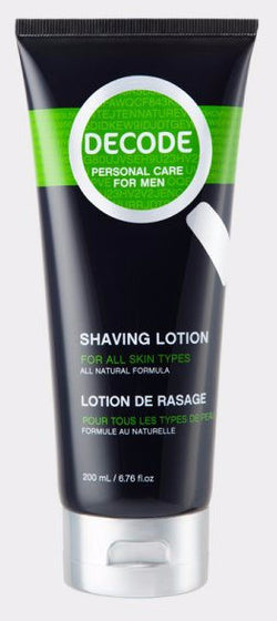 Men's All Natural Shaving Lotion