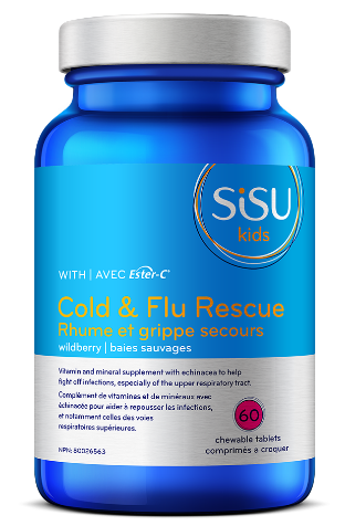 Kids' Cold & Flu Rescue with Ester-C®