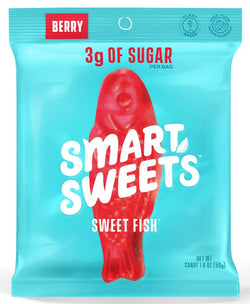 SmartSweets Sweet Fish - No Sugar Added, Vegan