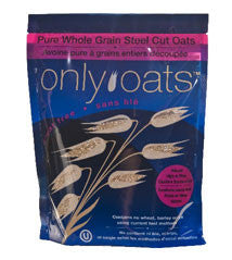 Only Oats™ Pure Whole Grain Steel Cut Oats (GF)