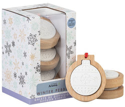 Stone Aromatherapy Diffusers Set of 3 WINTER