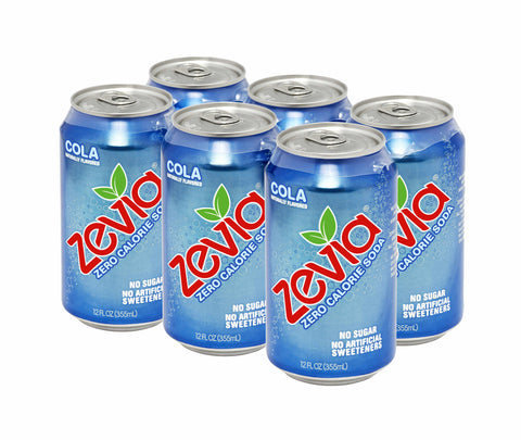 Zevia Cola - All Natural Zero Calorie Soda