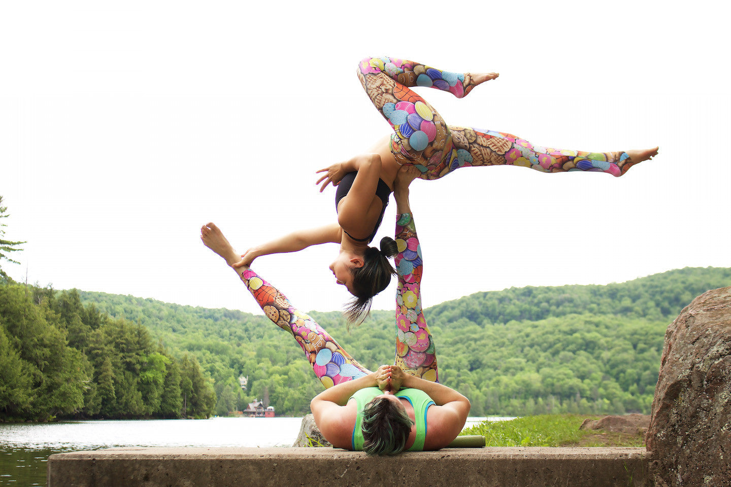 Acro Yoga Post - Mono Limb Back Bend (Gatineau Park, just outside of Ottawa)