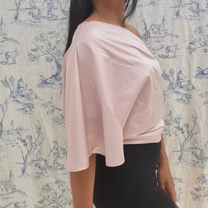 Nancy - Le top rose asymétrique