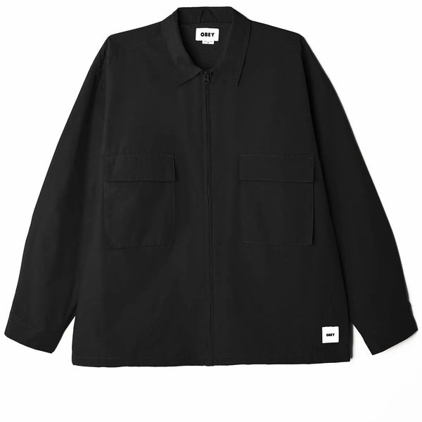 Commons Shirt Jacket Black
