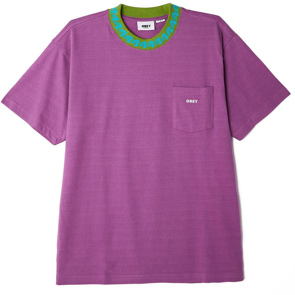 Plona Pocket T-Shirt Purple Nitro