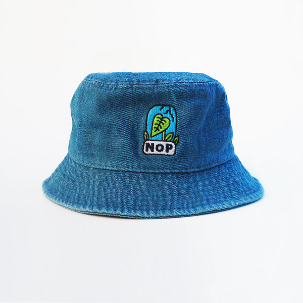 Bucket Hat Denim NOP x Pablo del Cielo