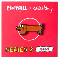 Keith Haring Dogs - Frank Pin