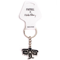 Keith Haring - Bat Demon Keychain