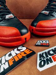 KicksOnFire Enamel Pins & Sticker Pack