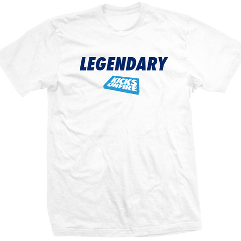 KicksOnFire Legendary T-Shirt - White (Limited Offer)