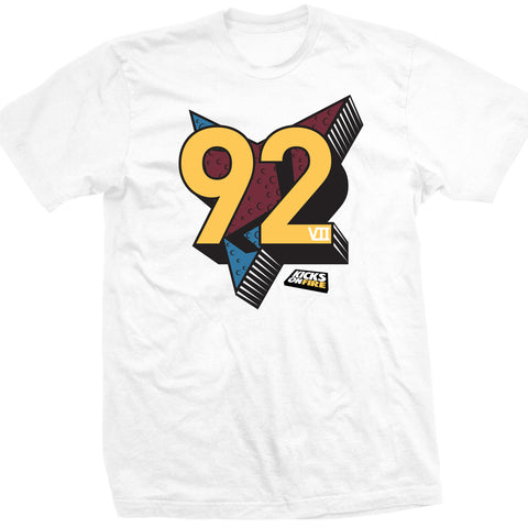 KicksOnFire Bring 92 Back T-Shirt - White (Limited Offer)