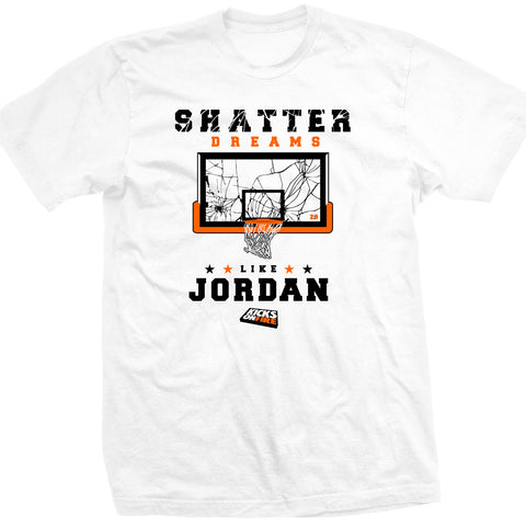 KicksOnFire Shatter Dreams T-Shirt - White (Limited Offer)