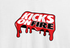 KicksOnFire T-Shirt - Dripped in Greatness (Red)
