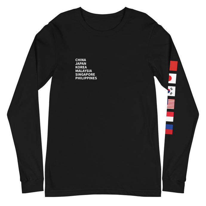 Flags Long-Sleeve