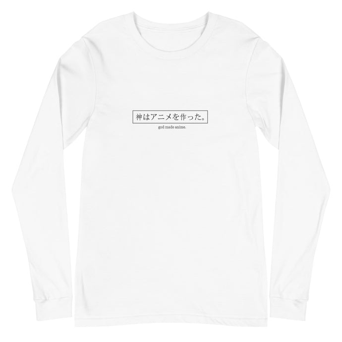God Made Anime Long-Sleeve