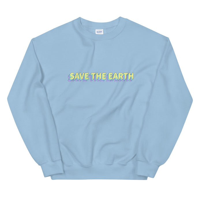 Save The Earth Sweatshirt