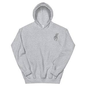 Embroidery Peace Hoodie