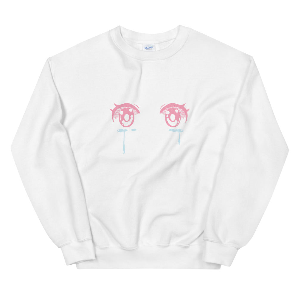 Crying Eyes Sweatshirt