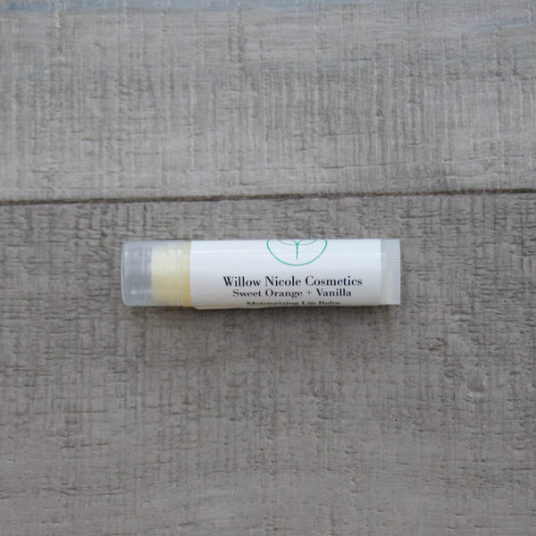 Sweet Orange + Vanilla Lip Balm