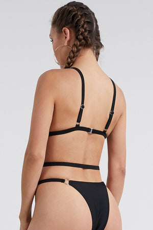 Load image into Gallery viewer, One piece Strap Buckle Bikini