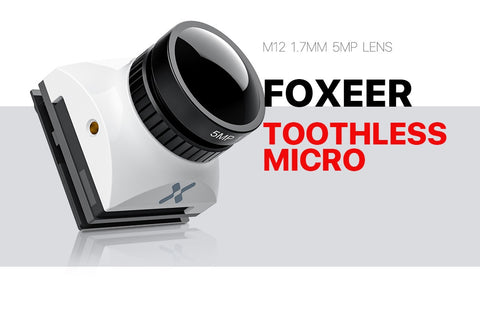 FOXEER Toothless 2 Micro 1/2'' 1200TVL Full Weather Cam (M12)