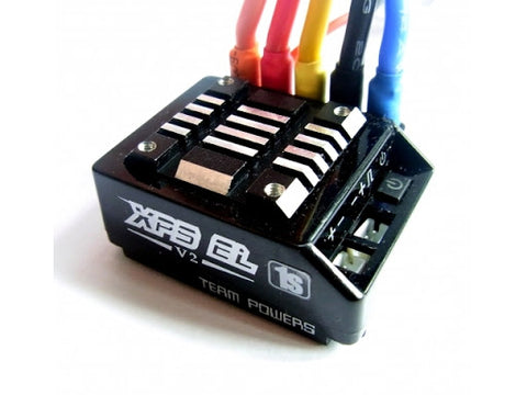 TEAM POWER XPS EL V2 PROFESSIONAL SENSORED BRUSHLESS ESC