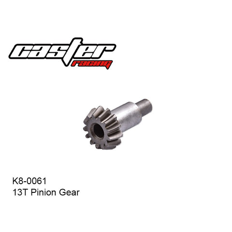 Caster Racing K8-0061 13T Pinion Gear