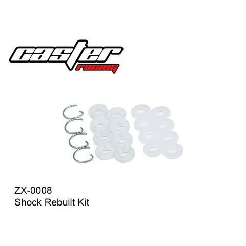 Caster Racing ZX-0008 Shock Rebuilt Kit