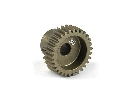 Xray Alu Narrow Pinion Gear -Hard Coated 30T/64 305980