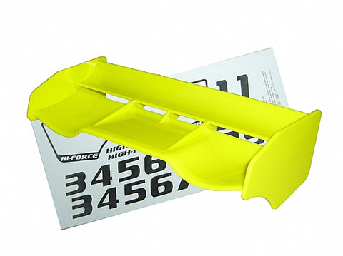 Hong Nor 1/8 Buggy Hi-Force Wing, Yellow #380Y