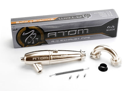 Atom R/C Exhaust Pipe