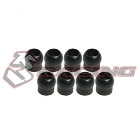 3Racing 415-02 PIVOT BALL-HEAVY DUTY (8PCS) FOR TRF415
