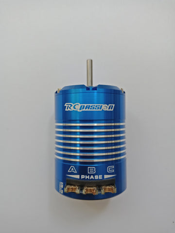 RCPASSION 540 Sensored Brushless Motor Blue Color 2 Pole 3.145mm Stock SPEC 13.5T