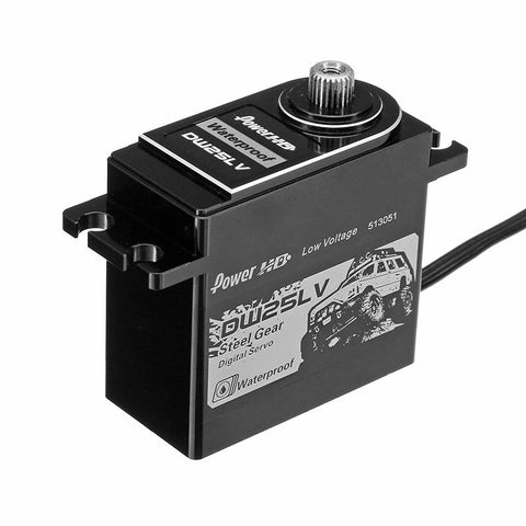 Power HD Waterproof Servo DW-25LV