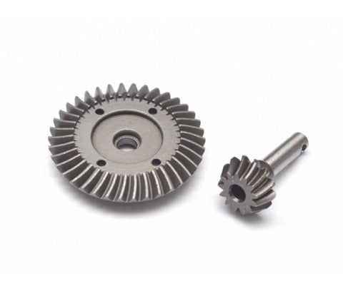 BoomRacing Heavy Duty Bevel Helical Gear Set - 38T/14T For All 1/10 Axial Trucks (RECON G6 The Fix Certified) BR648025