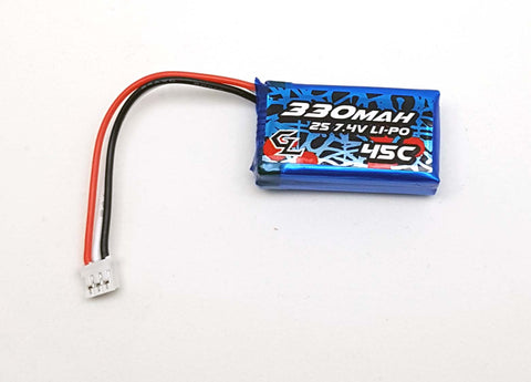 GL Racing 2S 330mAh Lipo Battery Pack GBY002