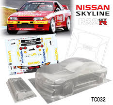 Team C 1/10 R32 Body 190mm TC032