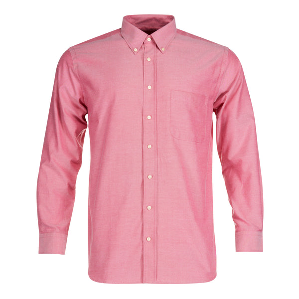 Camisa Oxford Rojo