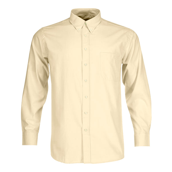 Camisa Oxford Amarillo