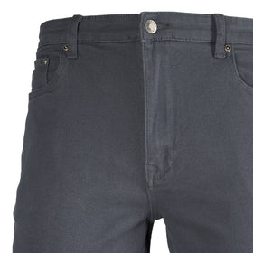 Jeans Twill Spandex Gris