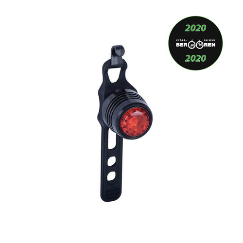 OXC BRIGHTSPOT ALLOY SINGLE LED REAR LIGHT – paristokäyttöinen leditakavalaisin