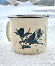 Load image into Gallery viewer, Linnet Bird Campfire Mug